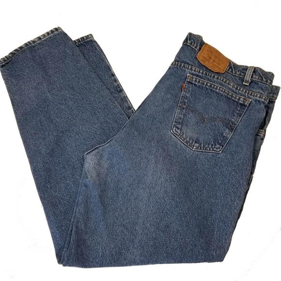 Levi's Other - Levis 560 42x32 Loose Comfort Fit Blue Jeans